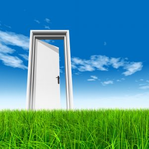 Your doorway to opportunity is closed or open for you.  Do you...  Answer the Knock!